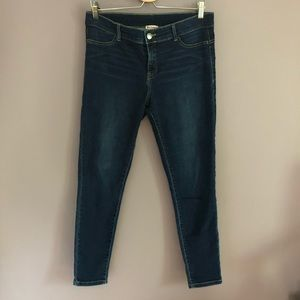 Juicy Couture Dark Wash Skinny Jeans Size 10
